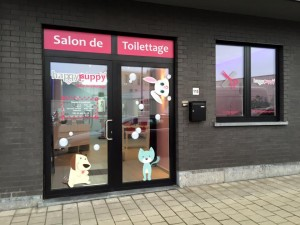 Vitrine toilettage HappyPuppy Forest